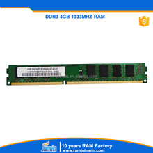 wholesale alibaba original chips ram ddr3 pc10600 1333 4gb