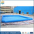 Outdoor giant family size inflatable swimming pool customized size swimming pool