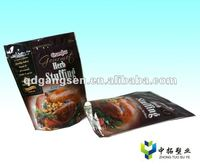 The USA Feast chicken cuisine zipper packaging bag