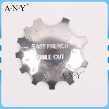Wholesale Small Size Easy French Smile Cut Manicure Nail Art Metal Nails Tool