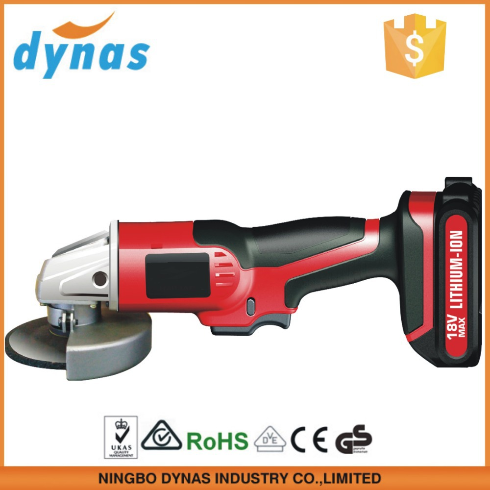 18V li-ion Battery rechargeable portable Cordless mini rotary Angle Grinder