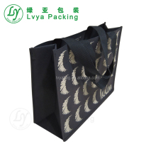 hot sale custom picture printing high quality laminated foldable non woven shopping bag carrier bag