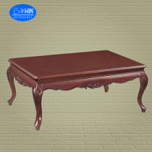 antique hand carved indonesia furniture cheap solid wood coffee table ( W-301#)