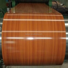 wood grain printed ppgi coil/prepainted galvanized steel from CHINA