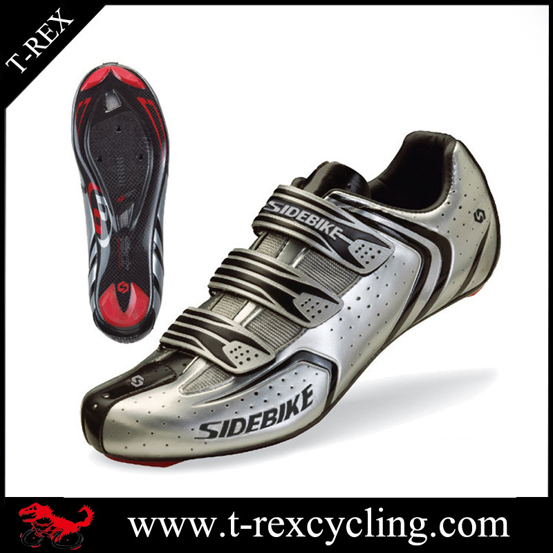 Factory made professional road bike racing shoes autolock cycling shoes