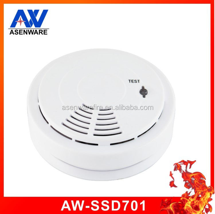 Hot Cheap portable ceiling mounted independent 9v battery smoke detector prices