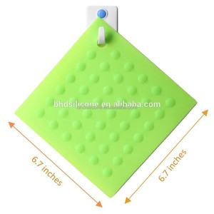 Heat Resistant Silicone Table Hot Pad,Nonslip Coaster Insulation Mat