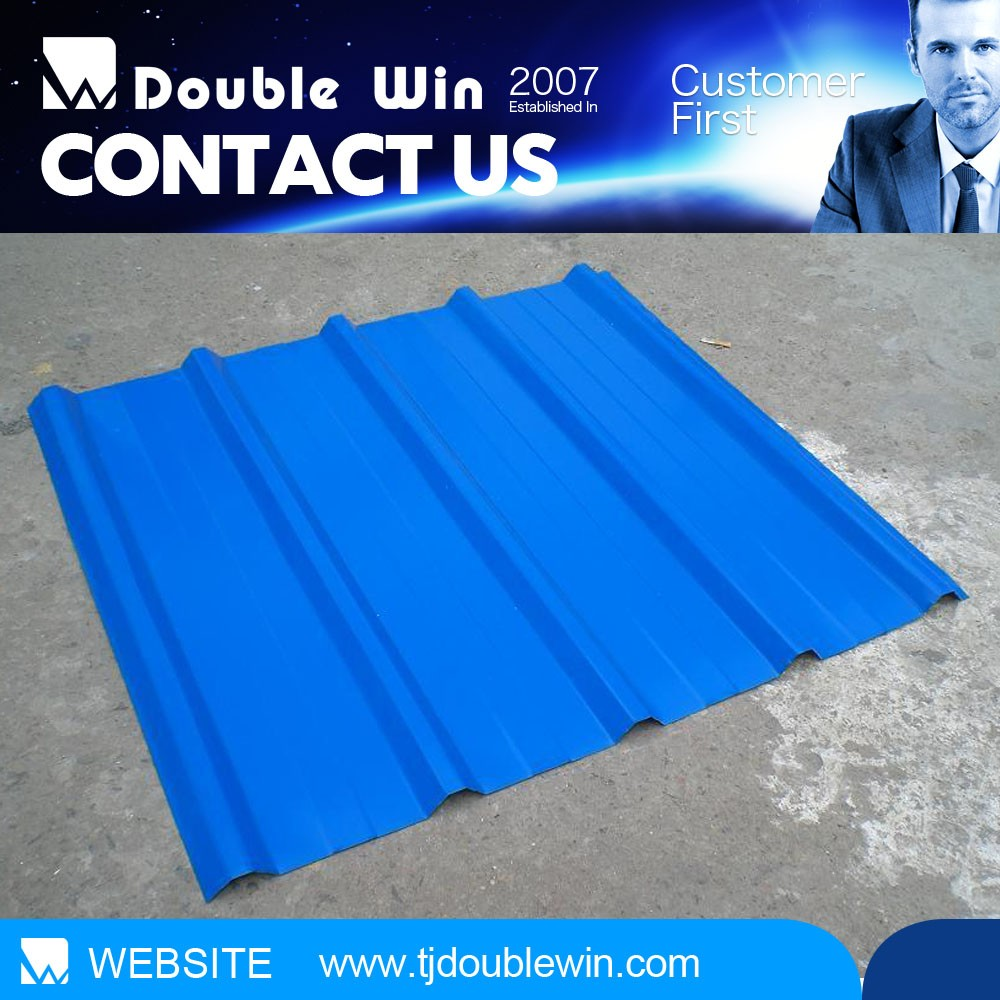 Construction & Real Estate PVC plastic roof panel/discount corrugated roof sheet