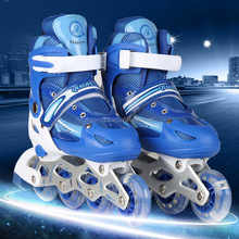 Aliexpress high quality kids custom children skate roller shoes