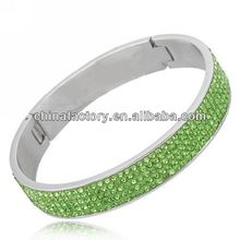 Fashion 5Rows Peridot German Stainless steel Jewelry