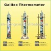 glass indoor Galileo Thermometer