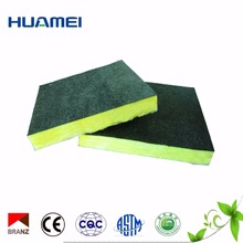Black fiberglass tissue foil faced thermal insulation glass woo board