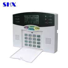 433mhz PSTN LCD screen china house wireless gsm security alarm manual