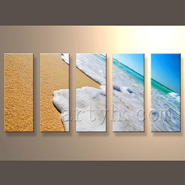 Newest Handmade Famous Sea Canvas Oil Art Paintings For Home Decoration