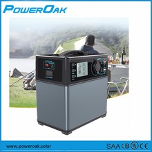 PowerOak 300W 400wh Li-ion battery mini Portable Solar power Generator
