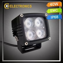 high quality factory price atv 4x4 6063 aluminum DC12V auto led working light