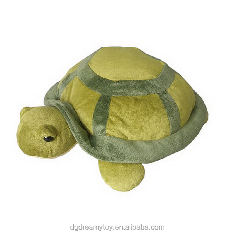 turtle sea animal polyester toys plush printed fabric toys