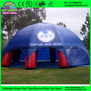 Exhibition Bubble Tent Building Roof Auto Ait Hot Welding Cover Inflatable Party Tent for Party Rental