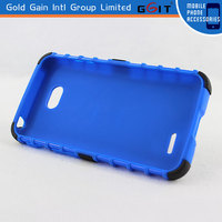 TPU + PC Case Cover For LG L70 Optimus Series III
