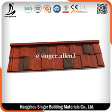 Promotion Spanish S Style Villa Stone coated Roofing Tile For Sale
