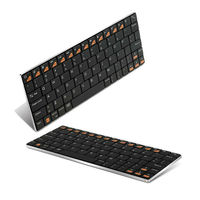 Membrane Keyboard Bluetooth Ipad Mini Keyboard