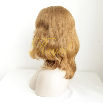 China Wholesale Human Hair Body Wave Remy Hair WigJewish Wig