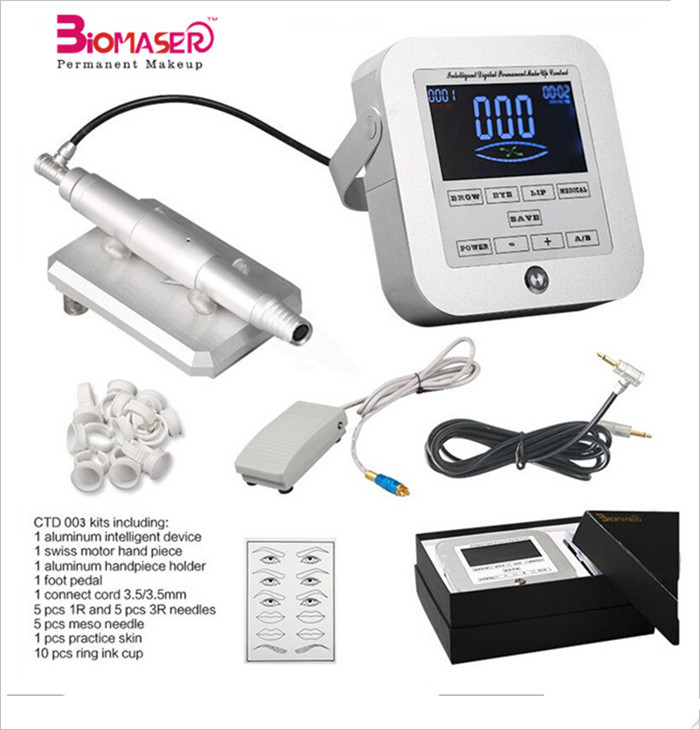 Biomaser new semi permanent makeup micropigmentation machine