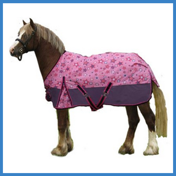 600D Shimmering Star Miniature Turnout Horse Blanket