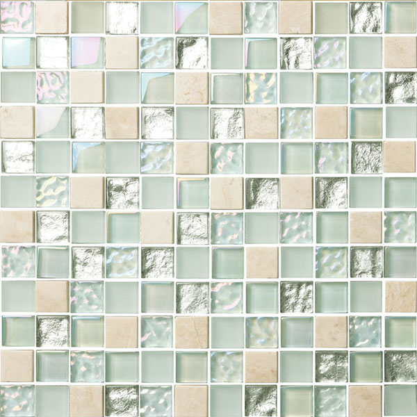 glass mosaic for outdoor decorative walling glass tiles