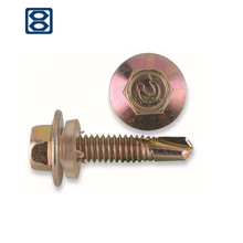 self-drilling screw machine roofing screw of DIN 7504K