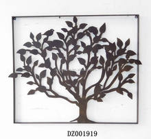 Hot Sale Metal Wall Hanging Family Tree Wall Decor
