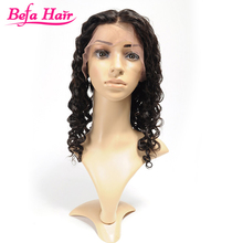 High quality noble 6A hot sexy no shedding no tangle unprocessed deep wavy remy indian human hair wigs for black women