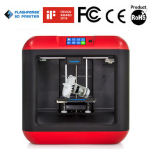 New Desktop DIY Kit 3D Printer Classic imprimante 3d Aluminium Electronic Stampante 3d with 2 Roll Filament Gift