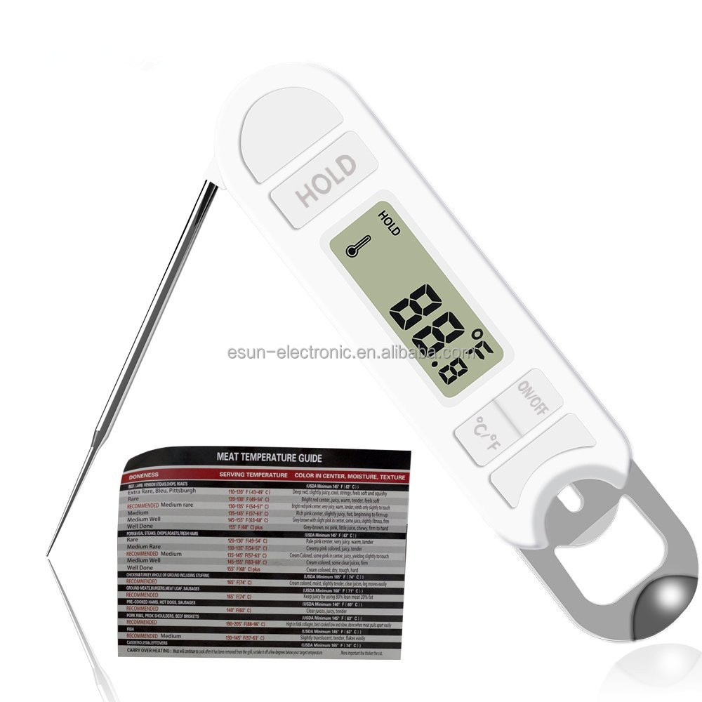 Newest In Alibaba Com Digital Beef Meat Thermometer With Bottle Opener