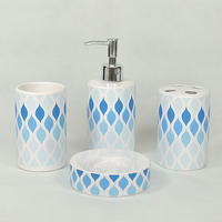Fashion Home Accessories Ceramic Modern Blue