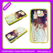 JESOY 2D Sublimation For Samsung Galaxy S4 S5 S6 TPU Case Custom Design Printed Phone Case with metal plates