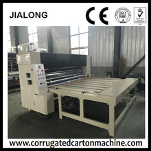 dongguang low price chain feeder type corrugated paperboard multicolor slotting printing machine