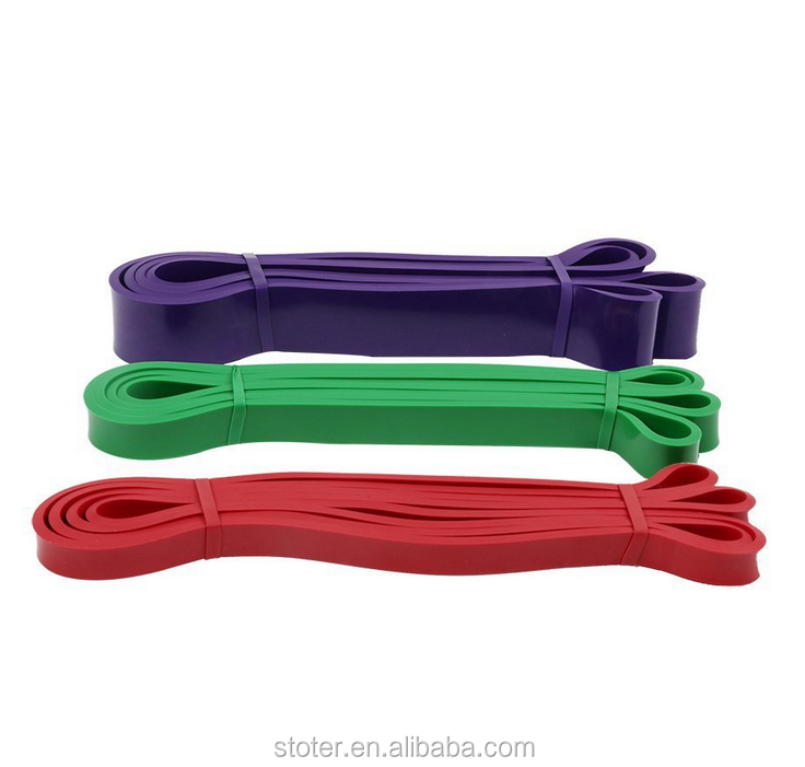 Fitness Resistance Exercise Bands 5 Levels Latex Resistance Loop Bands