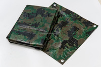 PE Camouflage Waterproof Insulated Tarpaulin Tarps
