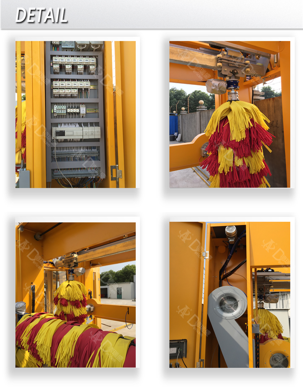 Dericen DL3 Car Wash Service Station Equipment