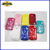 For Samsung Galaxy Mini 2 S6500 Case, IMD Butterfly&Flower Design PC Back Cover Laudtec