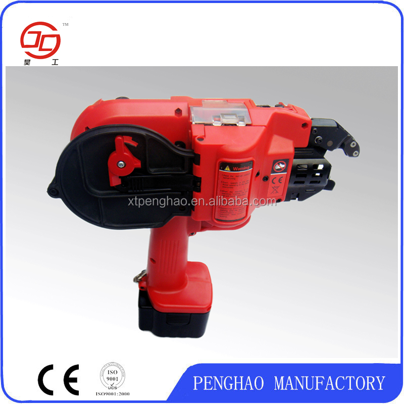Automatic construction tool rebar tying machine