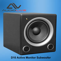outdoor subwoofer 100w Professional infinity D10 Monitor Subwoofer Speaker