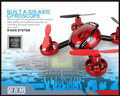 392 2.4G 4CH big promotion rc quadcopter mini drone with camera