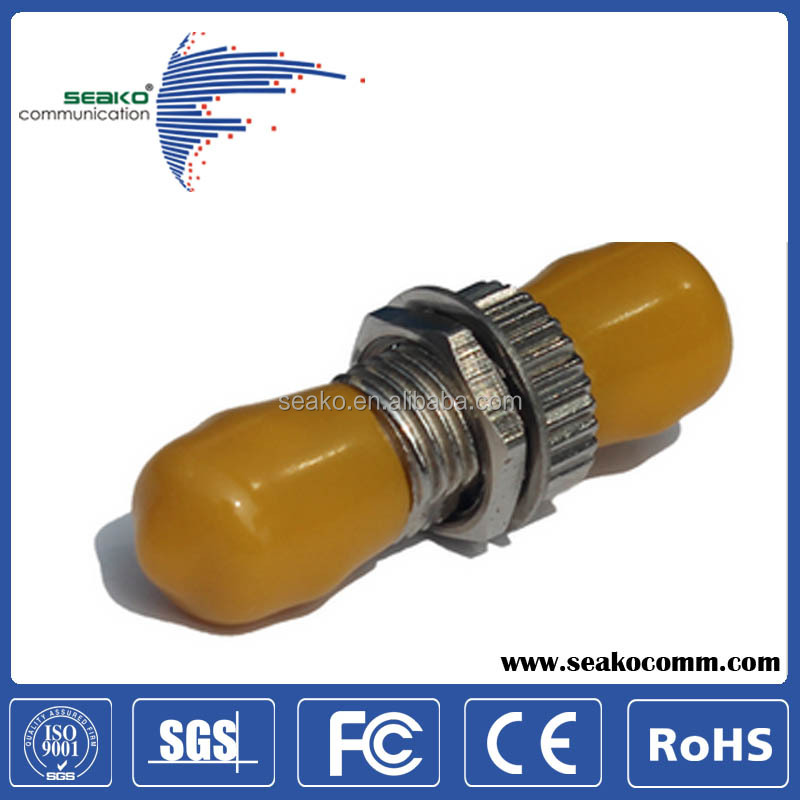 SX Singlemode ST optical fiber adaptor, free sample, moderate price.