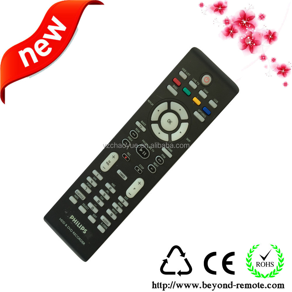 HDD&DVD Recorder+ LED/LCD Universal+ New abs remote control for Phip