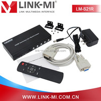LINK-MI LM-S21R HDMI 1.3 HDCP 1.2 1080P HD Video Multiplexers 2 In 1 Out