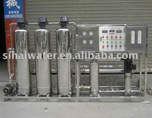 1000LPH single stage RO system water treatment plant , mineral water purifier machine with stainless steel water tank