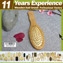 11 year experience factory professional top quality hot sales Eco-Friendly wooden hair washing brush