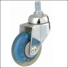 transparence pu wheel caster